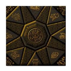 Aztec Runes Face Towel by BangZart