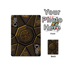 Aztec Runes Playing Cards 54 (mini)