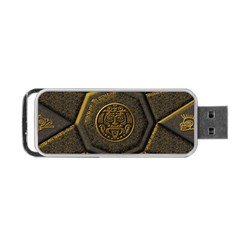 Aztec Runes Portable Usb Flash (two Sides) by BangZart