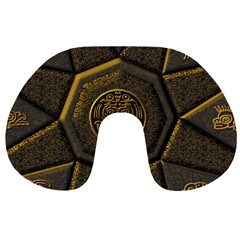 Aztec Runes Travel Neck Pillows
