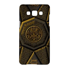 Aztec Runes Samsung Galaxy A5 Hardshell Case  by BangZart