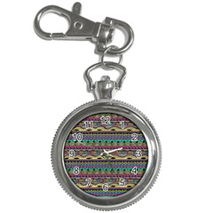 Aztec Pattern Cool Colors Key Chain Watches by BangZart