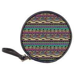Aztec Pattern Cool Colors Classic 20 Cd Wallets by BangZart