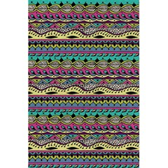 Aztec Pattern Cool Colors 5 5  X 8 5  Notebooks by BangZart