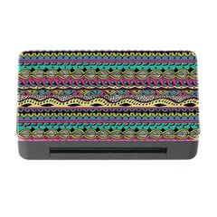 Aztec Pattern Cool Colors Memory Card Reader With Cf by BangZart