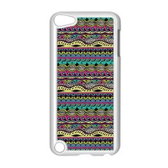 Aztec Pattern Cool Colors Apple Ipod Touch 5 Case (white)