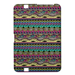 Aztec Pattern Cool Colors Kindle Fire Hd 8 9  by BangZart