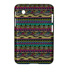 Aztec Pattern Cool Colors Samsung Galaxy Tab 2 (7 ) P3100 Hardshell Case