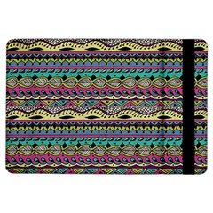 Aztec Pattern Cool Colors Ipad Air Flip by BangZart