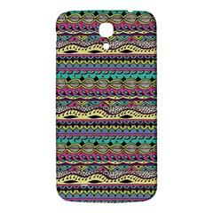 Aztec Pattern Cool Colors Samsung Galaxy Mega I9200 Hardshell Back Case by BangZart