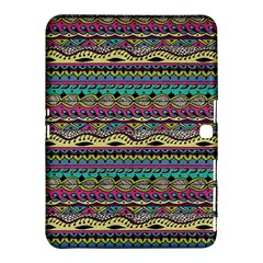 Aztec Pattern Cool Colors Samsung Galaxy Tab 4 (10 1 ) Hardshell Case
