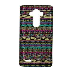 Aztec Pattern Cool Colors Lg G4 Hardshell Case by BangZart