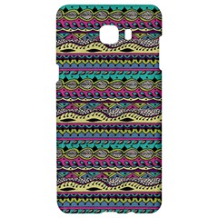 Aztec Pattern Cool Colors Samsung C9 Pro Hardshell Case  by BangZart