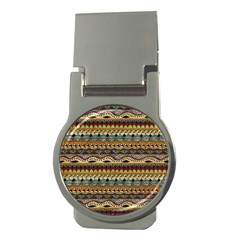 Aztec Pattern Ethnic Money Clips (round)  by BangZart