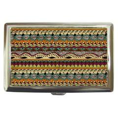 Aztec Pattern Ethnic Cigarette Money Cases