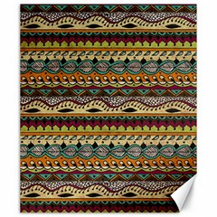 Aztec Pattern Ethnic Canvas 20  X 24   by BangZart