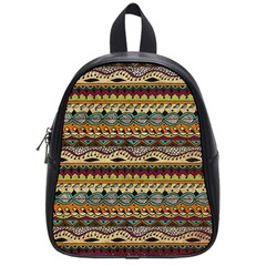 Aztec Pattern Ethnic School Bags (small)  by BangZart