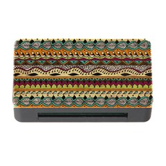 Aztec Pattern Ethnic Memory Card Reader With Cf by BangZart