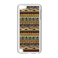 Aztec Pattern Ethnic Apple Ipod Touch 5 Case (white) by BangZart
