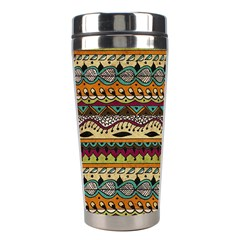 Aztec Pattern Ethnic Stainless Steel Travel Tumblers by BangZart