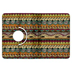 Aztec Pattern Ethnic Kindle Fire Hdx Flip 360 Case by BangZart