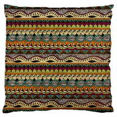 Aztec Pattern Ethnic Standard Flano Cushion Case (two Sides)