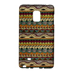Aztec Pattern Ethnic Galaxy Note Edge by BangZart