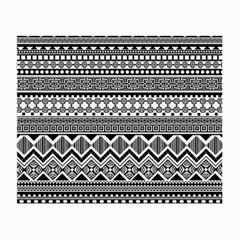 Aztec Pattern Design Small Glasses Cloth by BangZart