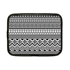 Aztec Pattern Design Netbook Case (small)  by BangZart