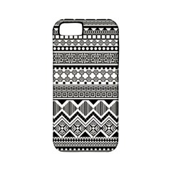 Aztec Pattern Design Apple Iphone 5 Classic Hardshell Case (pc+silicone) by BangZart