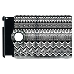 Aztec Pattern Design Apple Ipad 2 Flip 360 Case by BangZart