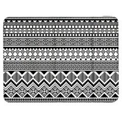 Aztec Pattern Design Samsung Galaxy Tab 7  P1000 Flip Case
