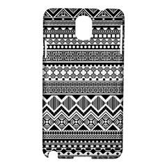 Aztec Pattern Design Samsung Galaxy Note 3 N9005 Hardshell Case by BangZart