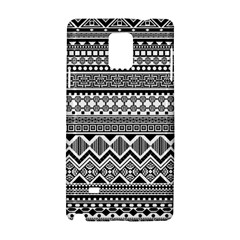 Aztec Pattern Design Samsung Galaxy Note 4 Hardshell Case by BangZart