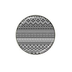 Aztec Pattern Design(1) Hat Clip Ball Marker (10 Pack)