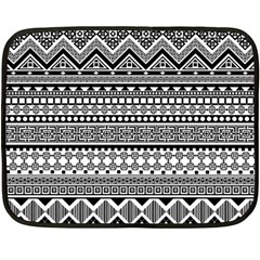 Aztec Pattern Design(1) Double Sided Fleece Blanket (mini)