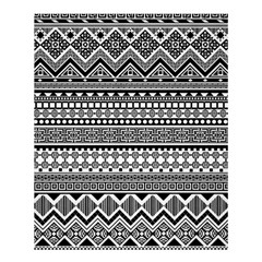 Aztec Pattern Design(1) Shower Curtain 60  X 72  (medium)