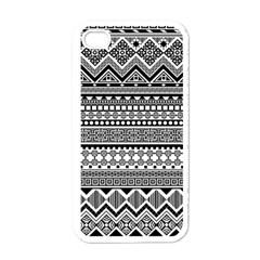 Aztec Pattern Design(1) Apple Iphone 4 Case (white)