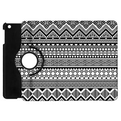 Aztec Pattern Design(1) Apple Ipad Mini Flip 360 Case