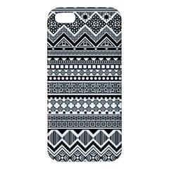 Aztec Pattern Design(1) Apple Iphone 5 Premium Hardshell Case by BangZart
