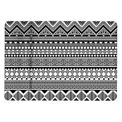 Aztec Pattern Design(1) Samsung Galaxy Tab 10 1  P7500 Flip Case by BangZart