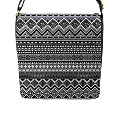 Aztec Pattern Design(1) Flap Messenger Bag (l)  by BangZart