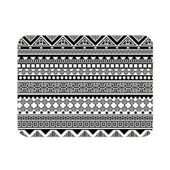 Aztec Pattern Design(1) Double Sided Flano Blanket (mini)  by BangZart