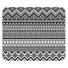 Aztec Pattern Design(1) Double Sided Flano Blanket (small)  by BangZart