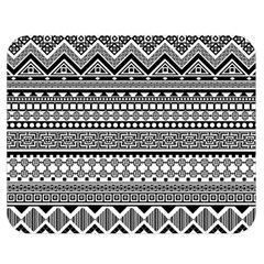 Aztec Pattern Design(1) Double Sided Flano Blanket (medium)  by BangZart