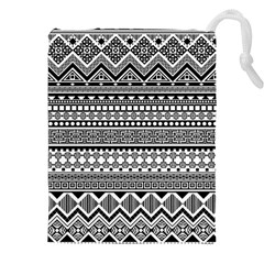Aztec Pattern Design(1) Drawstring Pouches (xxl) by BangZart