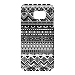 Aztec Pattern Design(1) Samsung Galaxy S7 Edge Hardshell Case