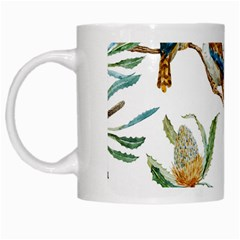 Australian Kookaburra Bird Pattern White Mugs by BangZart