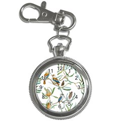 Australian Kookaburra Bird Pattern Key Chain Watches