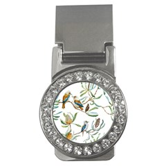 Australian Kookaburra Bird Pattern Money Clips (cz)
